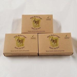 Goat Milk Soap UK pack