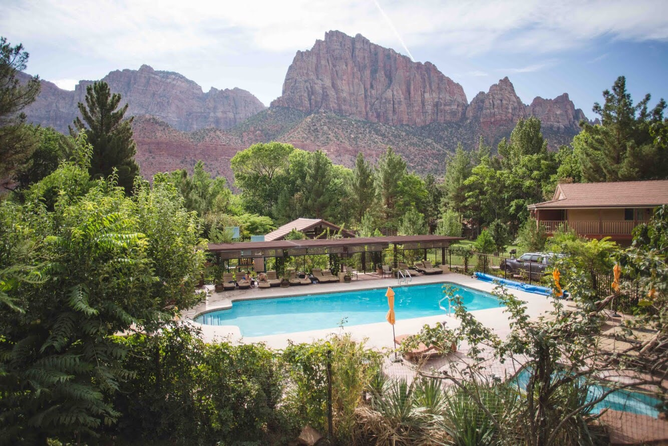 Great The Pool: The Cliffrose Lodge And Gardens| Zion | Palms To Pines ... Great Pictures