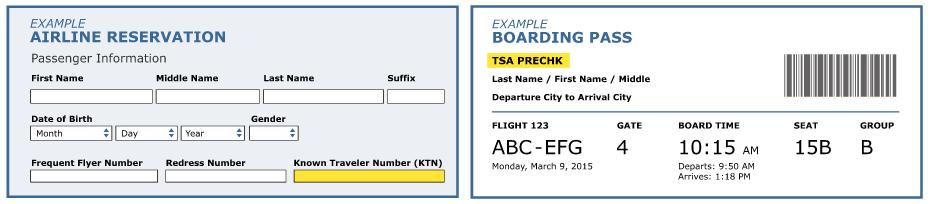 TSA Pre Check | Palms to Pines