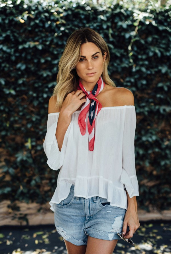 4th of July Outfit Ideas | palms to pines