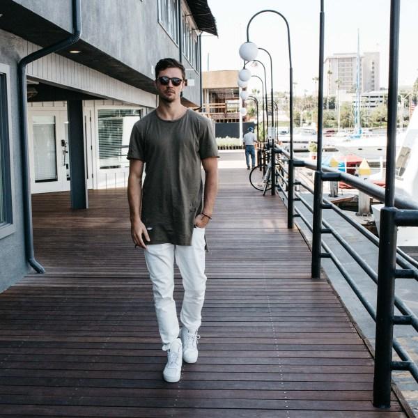 Mott & Bow   Men's White Jeans   Palms to Pines