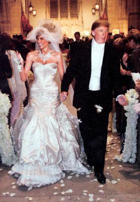 Donald and Melania's Wedding