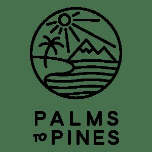 Palms to Pines square logo