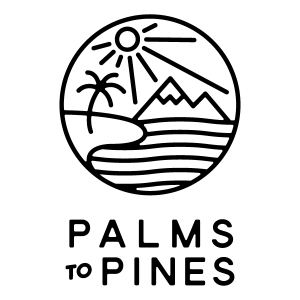 Palms to Pines square logo