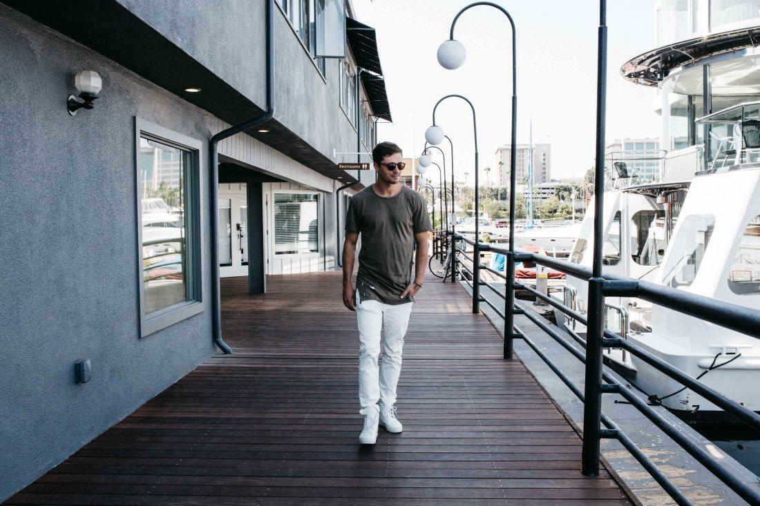 White Mott & Bow jeans