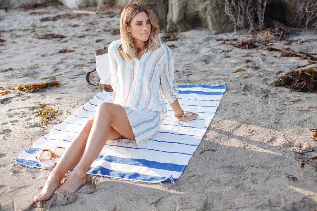 Linene Tunic on Jen Hawkins | Palm to Pines Lifestyle Blog