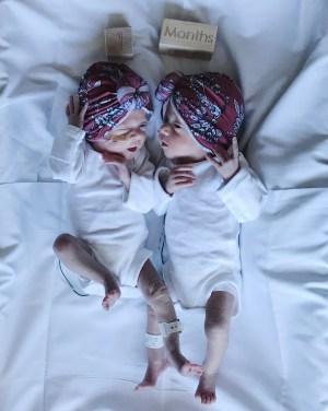 Preemie Twins | NICU | One month old