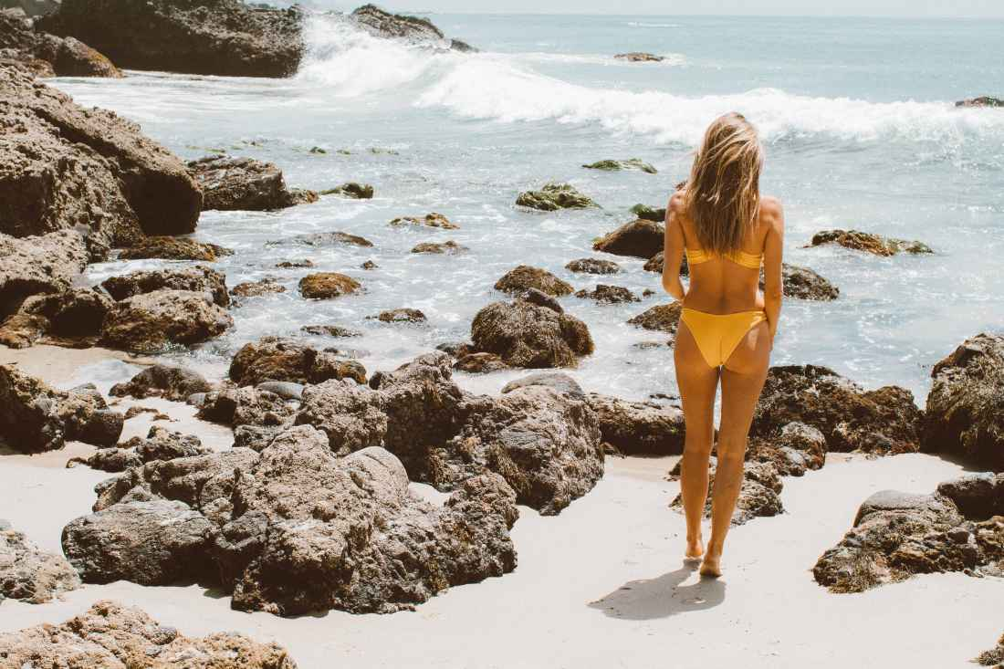 L*Space Yellow Swimsuit   The Shop Laguna   Palms to Pines