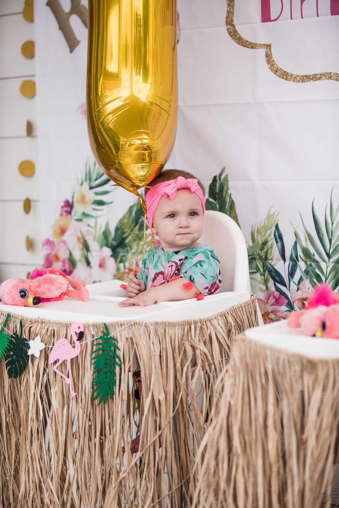 Hawaiian Luau First Birthday Party | Romy and PIper