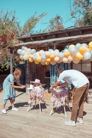 First Birthday Party Ideas | Cowgirl \ Farm theme first birthday