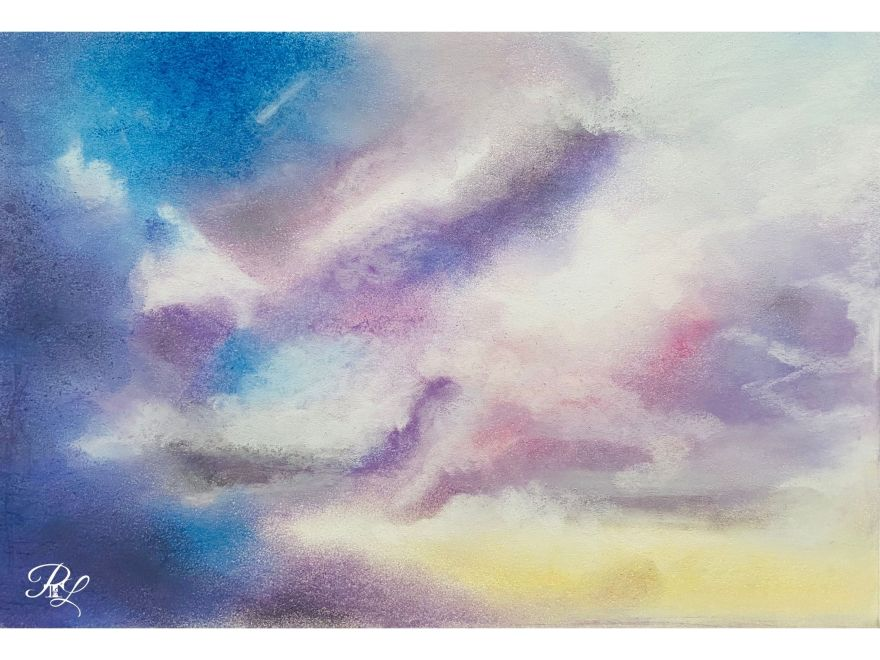 Pastel Clouds buy on Redbubble