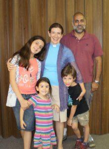 Pastor Michelle's family