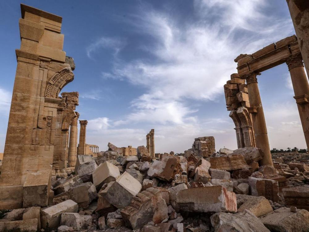 The Monumental Arch is among the many lost structures and treasures Corbis