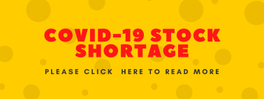 COVID Stock Shortage Banner 13 July 2020