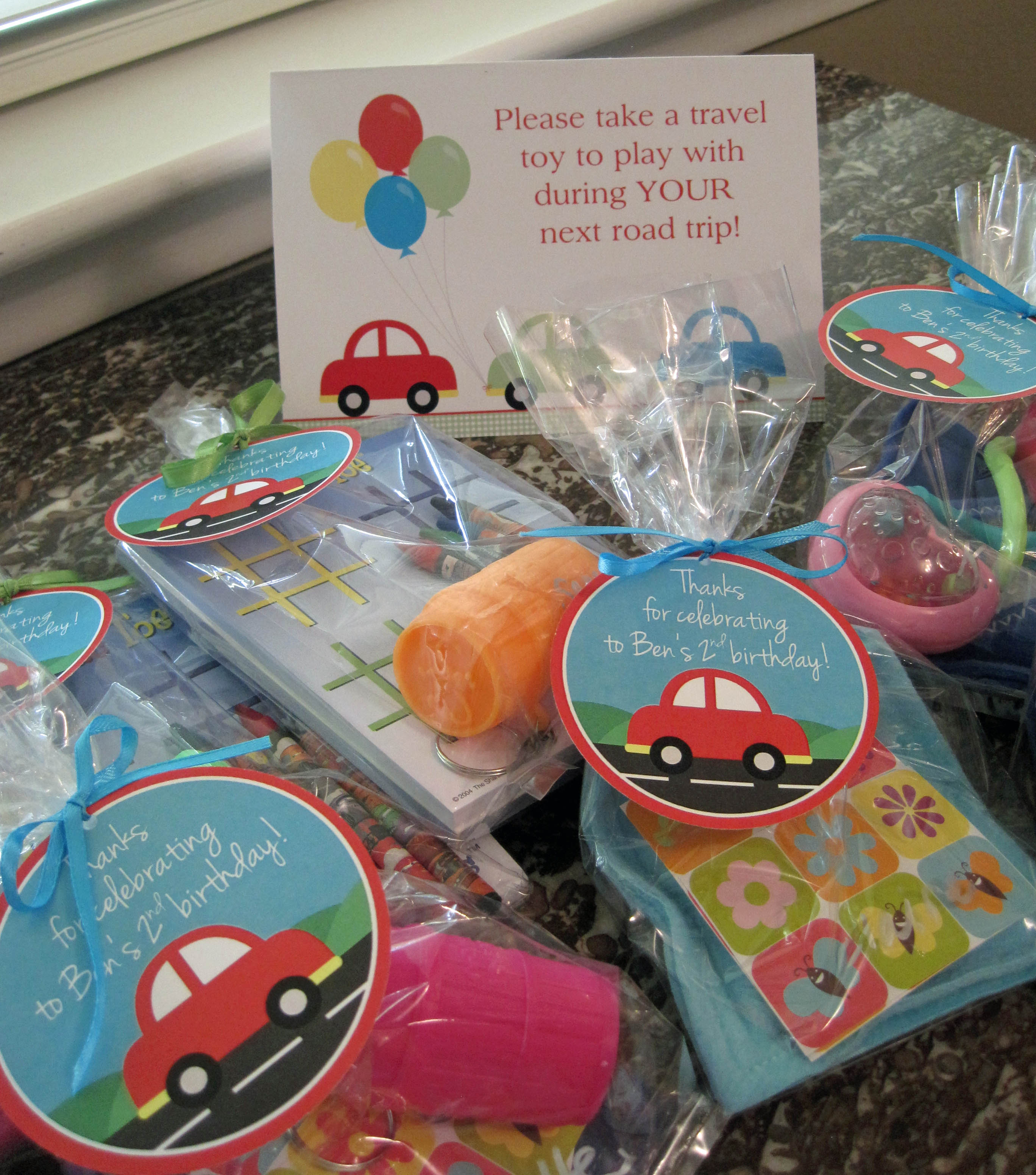 Car Birthday Party Paloma Paper Designs