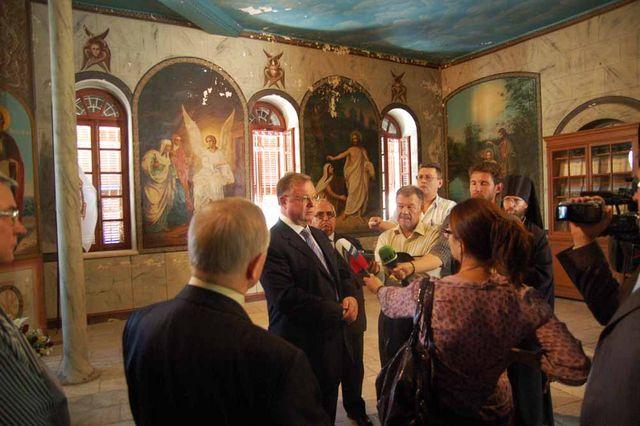 С.В. Степашин дает интервью российским СМИ. © Иерусалимское отделение ИППО