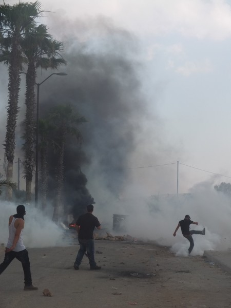 Clashes in Silwad