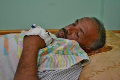 Muhareb Abu Omar, 48 (Photo: Rosa Schiano)