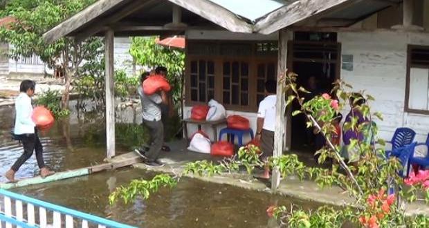 500 Rumah di Pinggir Danau Poso Terendam
