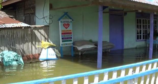 Korban Banjir Danau Poso Terancam Wabah Penyakit