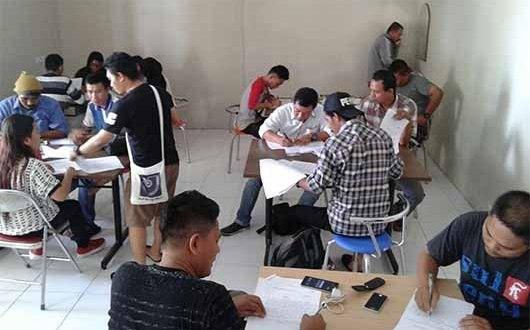 17 Wartawan di Luwuk Ikuti Seleksi Penerimaan Anggota AJI Palu