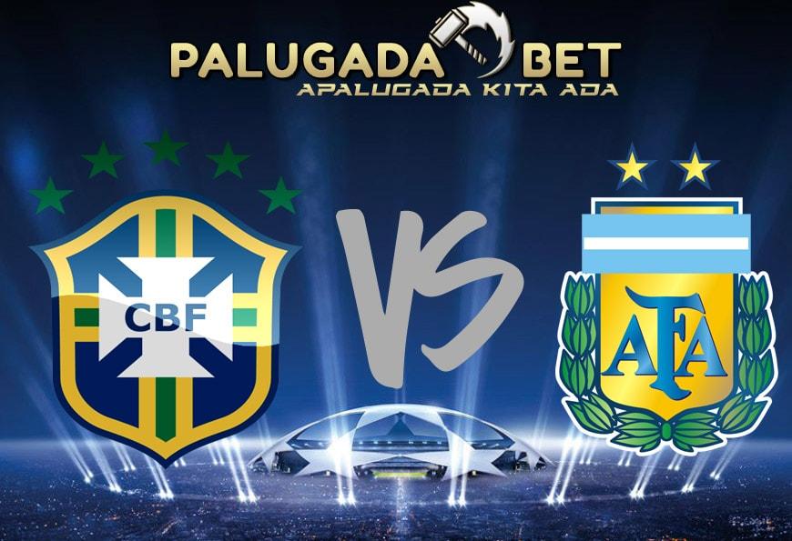 Preview Laga Brazil VS Argentina, Tim Samba Lebih Unggul Kali Ini