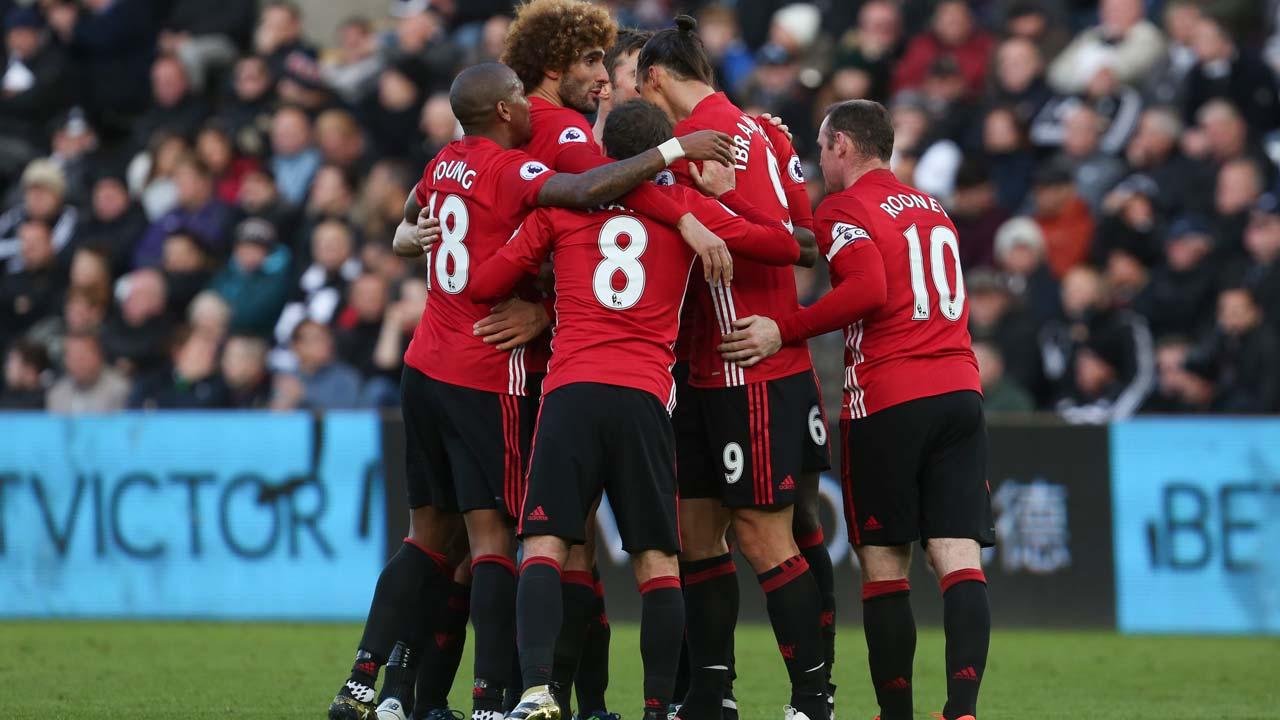 Bandar Judi Bola - Manchester United Menang 3-1 Swansea