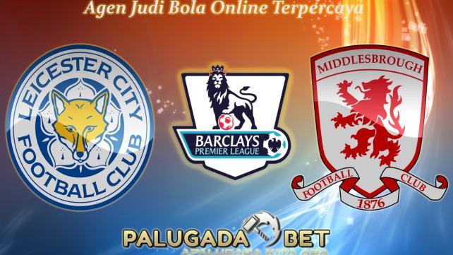 Prediksi Leicester City vs Middlesbrough (Liga Inggris) 26 November 2016 - PLG