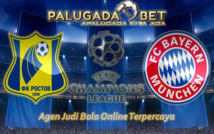 Prediksi Rostov vs Bayern Munchen 24 November 2016 - PLG