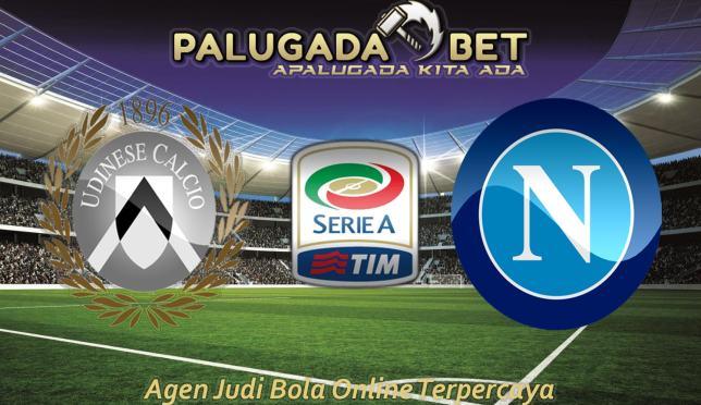 Prediksi Udinese vs Napoli (Liga Italia) 20 November 2016 - PLG