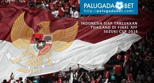 Final leg.1 AFF Suzuki Cup 2016 Indonesia Thailand