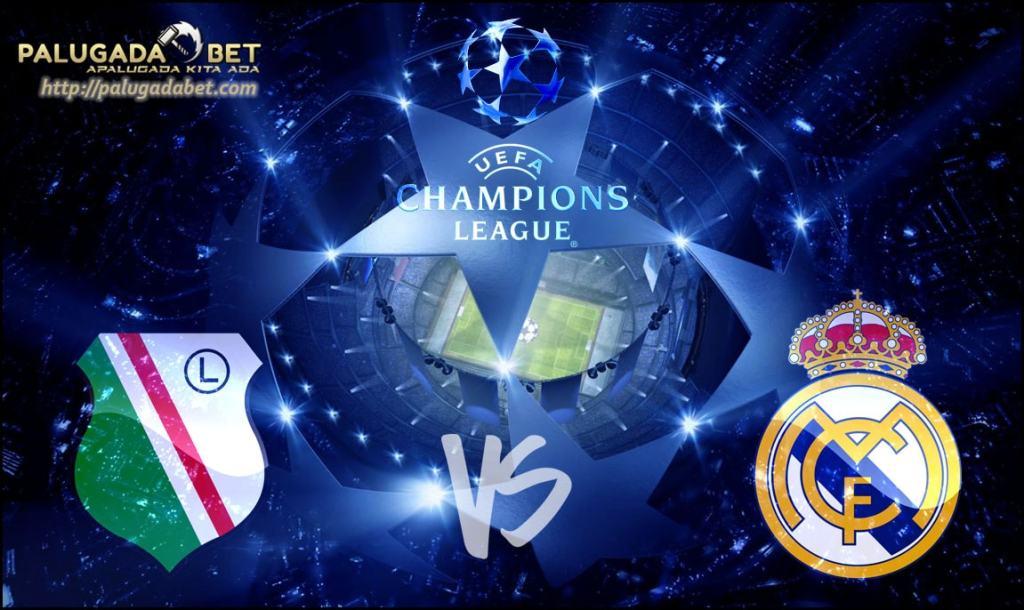 Agen Taruhan Bola - Prediksi Legia Warszawa vs Real Madrid 3 November 2016