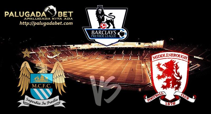 Agen Taruhan Bola - Prediksi Manchester City vs Middlesbrough 5 November 2016 (Liga Inggris)