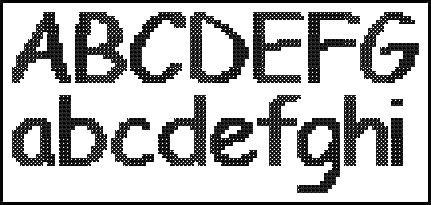 Buchstaben Sticken Vorlage Kostenlos Bewundernswert 13
