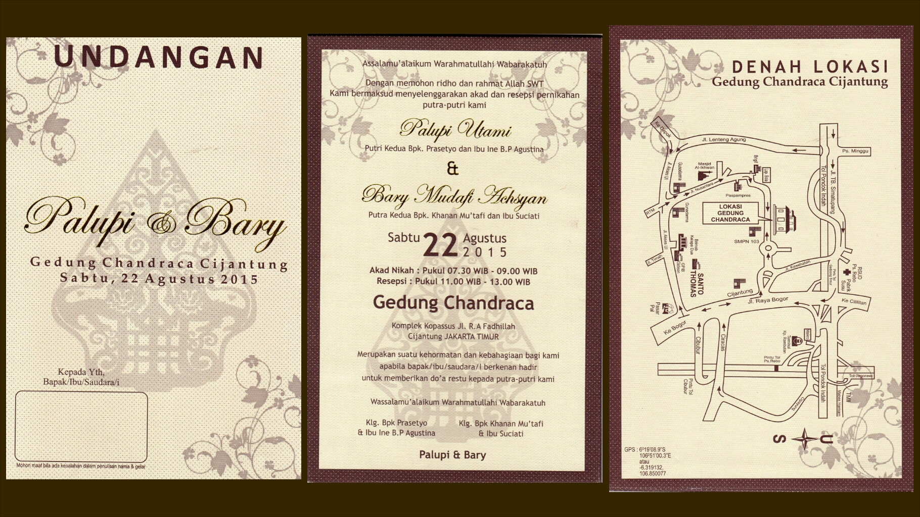 Undangan Pernikahan Jawa Palupi Utami