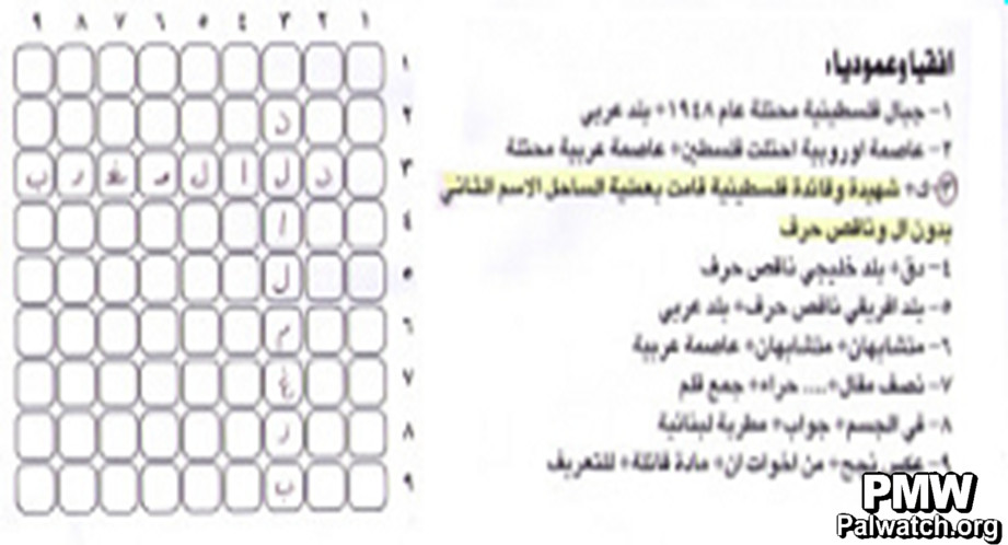 Pa Daily Crosswords Safed And Haifa Are Palestinian Cities