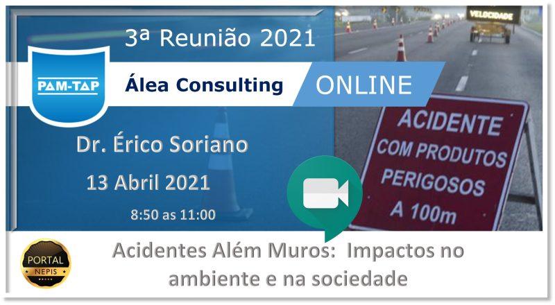 3ª Reunião PAM-TAP Álea Consulting  2021 Online