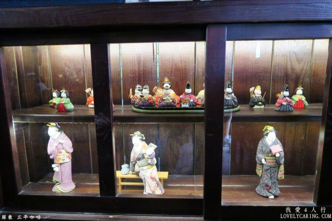 手工捏製的日本娃娃