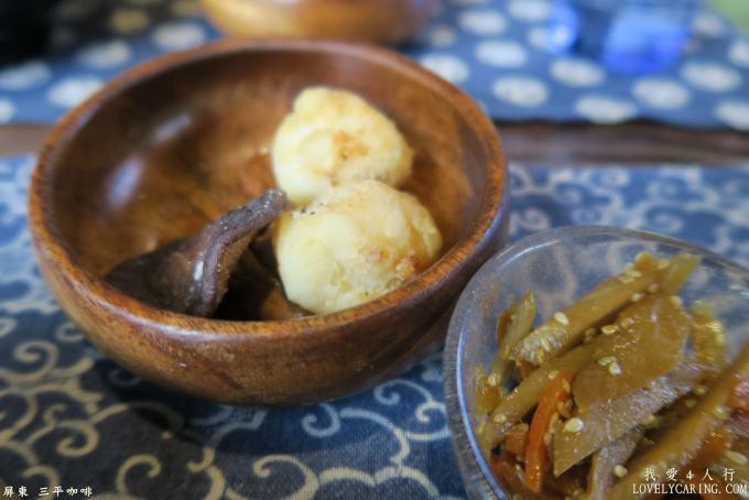 中華涼麵附的小菜