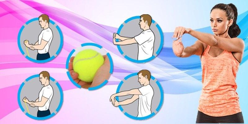 5個手腕運動