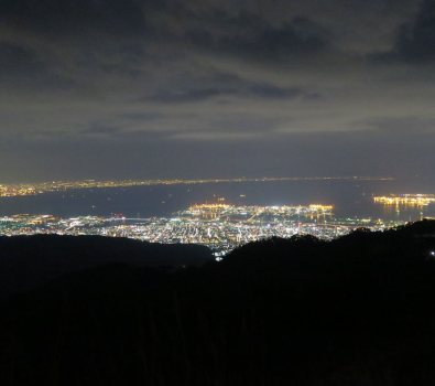 六甲山千萬夜景 rokkosan