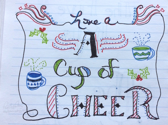 Doodling Fun - Christmas inspiration