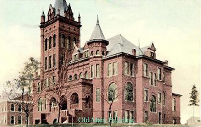 """The """"Old Main"""" Building on VBCH campus"""