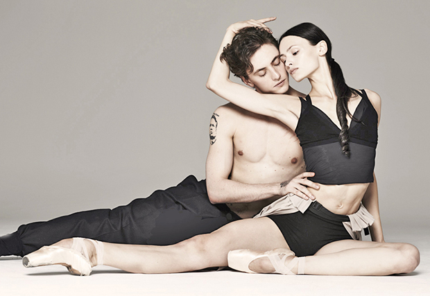 Sergei Polunin and Kristina Shapran