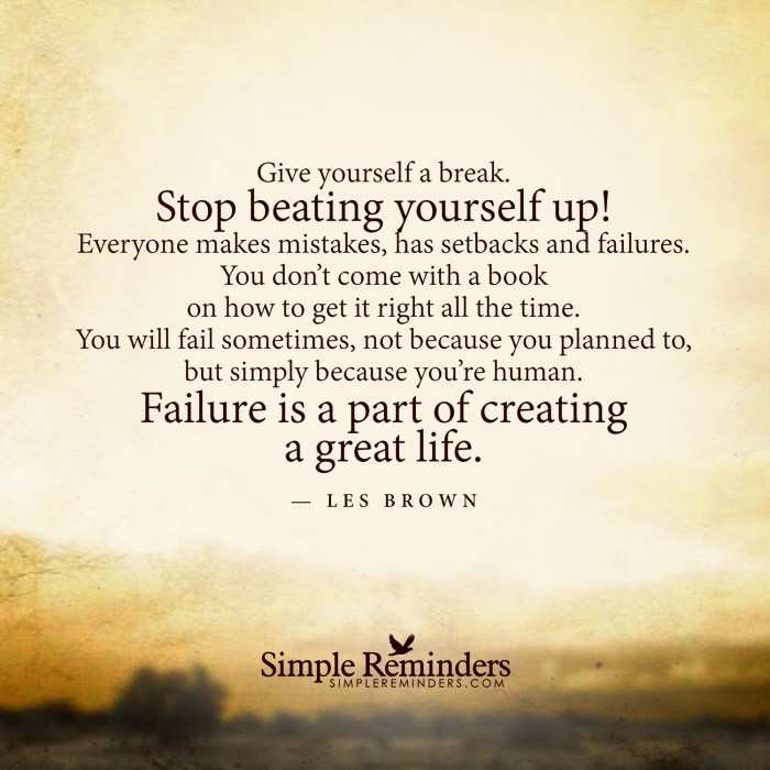 les-brown-stop-beating-yourself-failure
