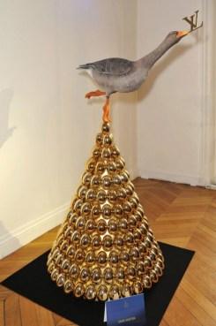 Luxo na árvore da Louis Vuitton