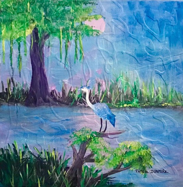 MOONLIT HERON
