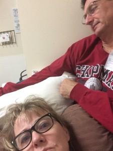 sleepy in hospital