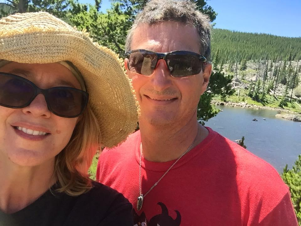 ringbone lake selfie