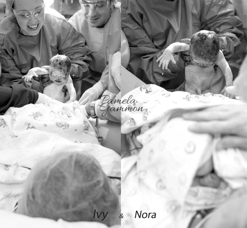 Southern Ohio Twin Birth Photographer